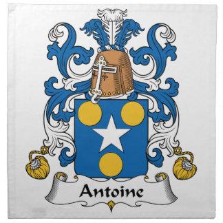 Escudo de la familia de Antoine Servilleta De Papel