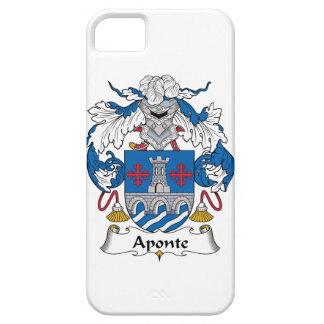 Escudo de la familia de Aponte iPhone 5 Funda