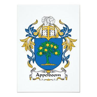"""Escudo de la familia de Appelboom Invitación 5"""" X 7"""""""