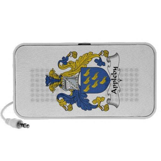 Escudo de la familia de Appleby iPhone Altavoces