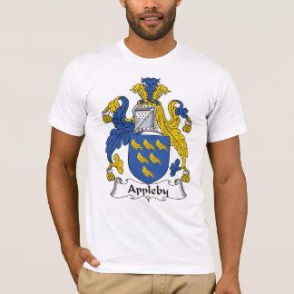 Escudo de la familia de Appleby Playera