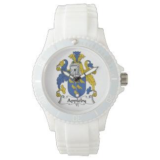 Escudo de la familia de Appleby Relojes De Pulsera