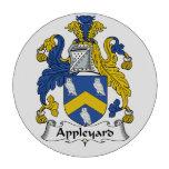 Escudo de la familia de Appleyard Juego De Fichas De Póquer