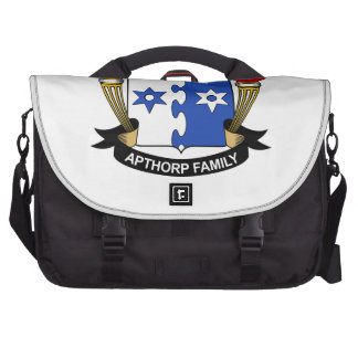 Escudo de la familia de Apthorp Bolsa Para Ordenador