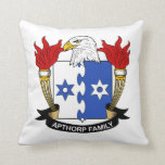 Escudo de la familia de Apthorp Cojin