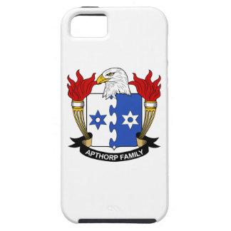 Escudo de la familia de Apthorp iPhone 5 Case-Mate Funda