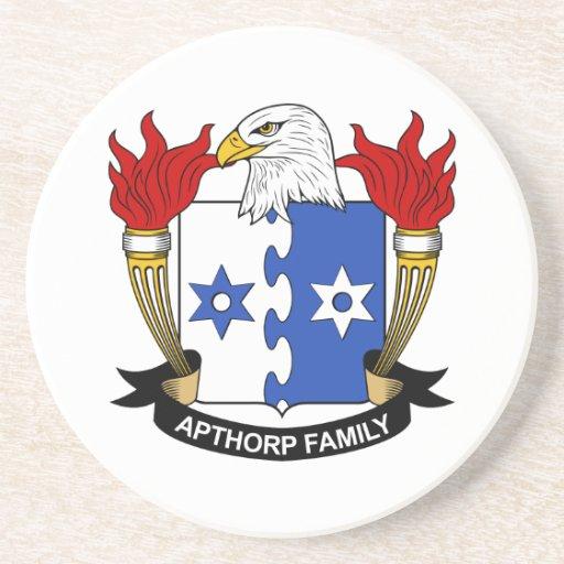 Escudo de la familia de Apthorp Posavasos Personalizados