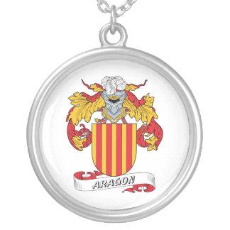 Escudo de la familia de Aragón Collares Personalizados
