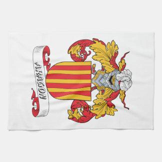 Escudo de la familia de Aragón Toallas De Mano