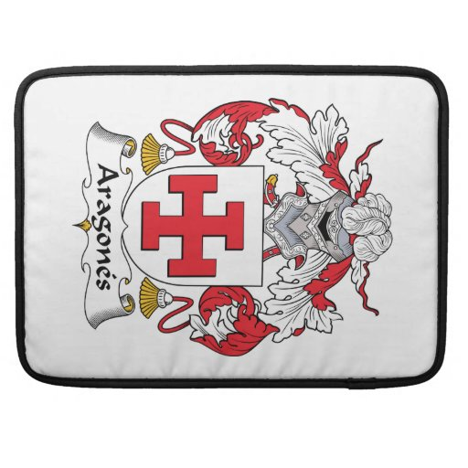Escudo de la familia de Aragones Fundas Para Macbook Pro