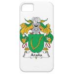 Escudo de la familia de Arana iPhone 5 Case-Mate Cárcasa