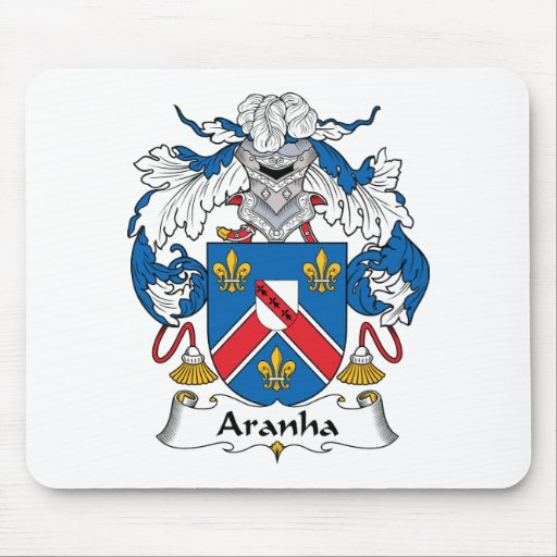 Escudo de la familia de Aranha Alfombrilla De Raton