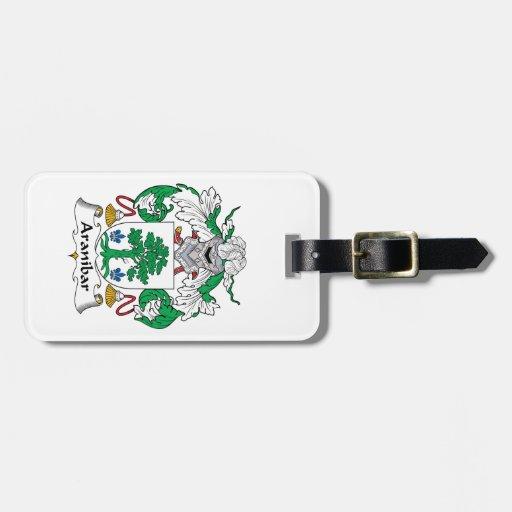 Escudo de la familia de Aranibar Etiquetas Para Equipaje