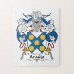 Escudo de la familia de Araujo Rompecabeza Con Fotos
