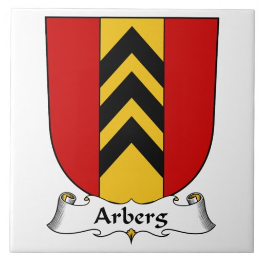 Escudo de la familia de Arberg Teja