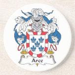 Escudo de la familia de Arce Posavasos Manualidades