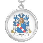 Escudo de la familia de Arces Colgantes Personalizados