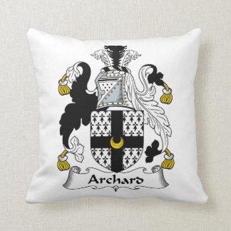 Escudo de la familia de Archard Cojines