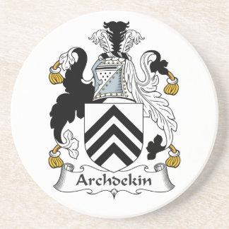 Escudo de la familia de Archdekin Posavasos Para Bebidas