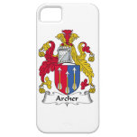 Escudo de la familia de Archer iPhone 5 Fundas