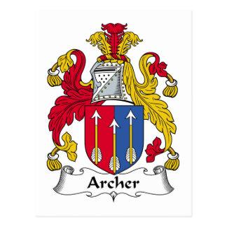 Escudo de la familia de Archer Postal