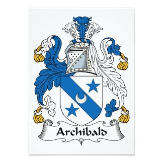 Escudo de la familia de Archibald Comunicado