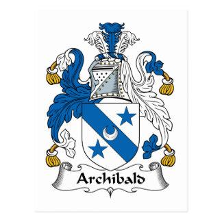 Escudo de la familia de Archibald Postal