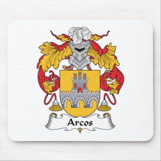 Escudo de la familia de Arcos Alfombrillas De Raton