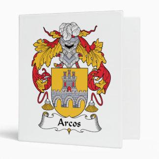 "Escudo de la familia de Arcos Carpeta 1"""