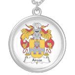 Escudo de la familia de Arcos Collar Personalizado