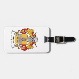 Escudo de la familia de Arcos Etiquetas Bolsa