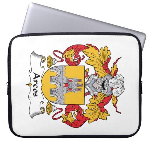 Escudo de la familia de Arcos Funda Computadora