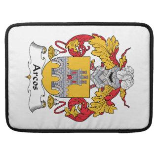 Escudo de la familia de Arcos Fundas Macbook Pro