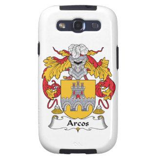 Escudo de la familia de Arcos Galaxy S3 Fundas