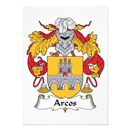 Escudo de la familia de Arcos Comunicados Personales