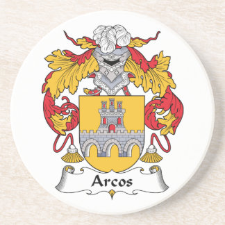 Escudo de la familia de Arcos Posavasos Diseño
