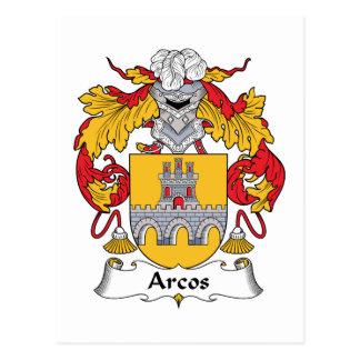 Escudo de la familia de Arcos Postal