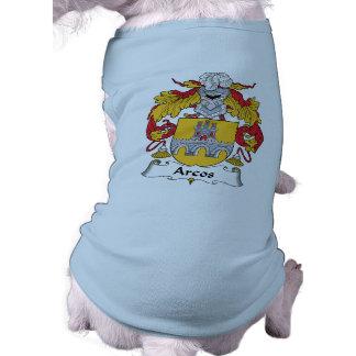Escudo de la familia de Arcos Playera Sin Mangas Para Perro