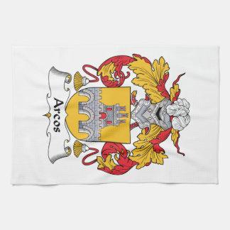 Escudo de la familia de Arcos Toalla De Cocina