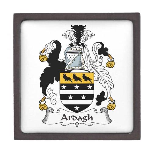 Escudo de la familia de Ardagh Cajas De Regalo De Calidad