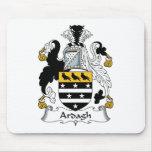 Escudo de la familia de Ardagh Alfombrillas De Ratón