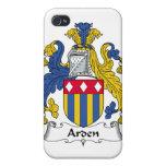 Escudo de la familia de Arden iPhone 4 Carcasa