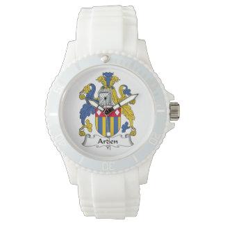 Escudo de la familia de Arden Relojes