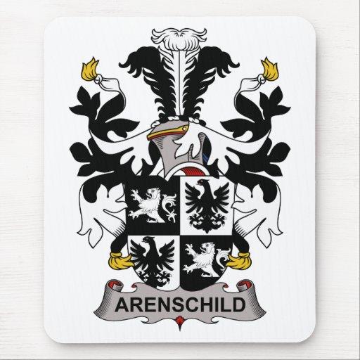Escudo de la familia de Arenschild Alfombrillas De Ratones