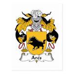 Escudo de la familia de Ares Postales