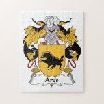 Escudo de la familia de Ares Rompecabezas