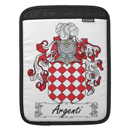 Escudo de la familia de Argenti Fundas Para iPads