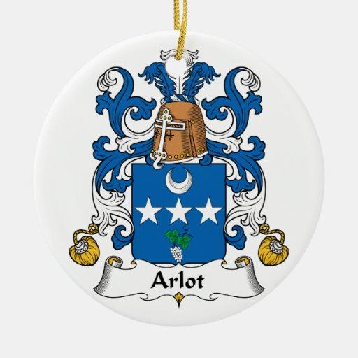 Escudo de la familia de Arlot Adornos