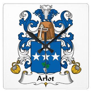 Escudo de la familia de Arlot Reloj