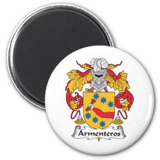 Escudo de la familia de Armenteros Imán De Nevera